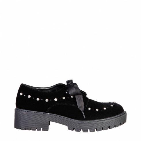 Laura Biagiotti Nő Csipkés cipő 2255_BLACK MOST 72695 HELYETT 12366 Ft-ért!