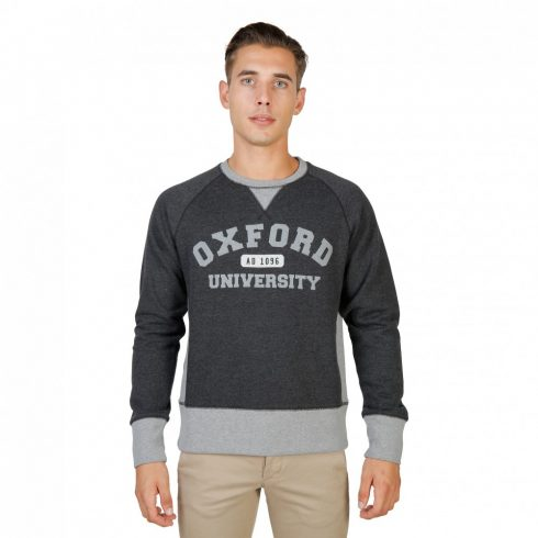 Oxford University Férfi Pulóver OXFORD-FLEECE-RAGLAN-GREY MOST 45263 HELYETT 4217 Ft-ért!