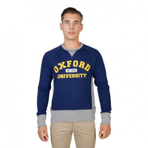 Oxford University Férfi Pulóver OXFORD-FLEECE-RAGLAN-NAVY MOST 45263 HELYETT 4217 Ft-ért!